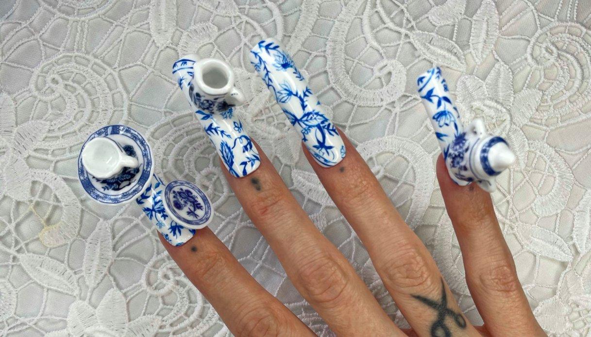 Unghie nail art