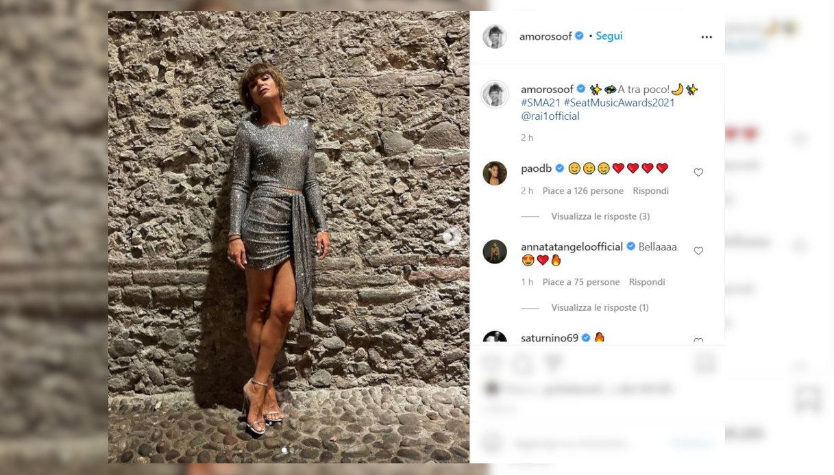 Alessandra Amoroso su Instagram