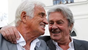 Jean-Paul Belmondo, il cordoglio di Alain Delon e Claudia Cardinale