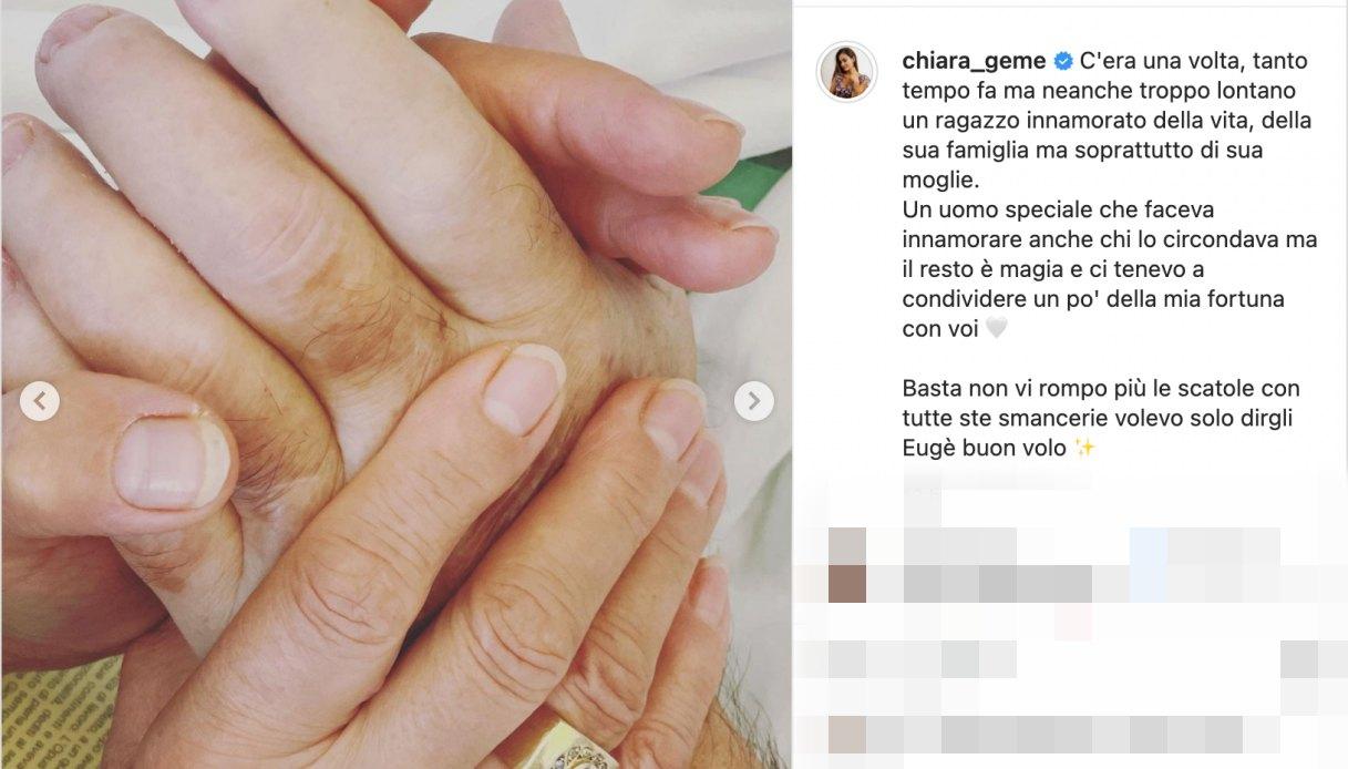 Il post di Chiara Rabbi dedicato a nonno Eugenio