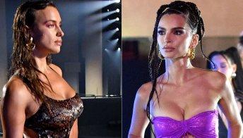 Irina Shayk ed Emily Ratajkowski, bikini scultoreo e selvaggio al Savage X Fenty Show