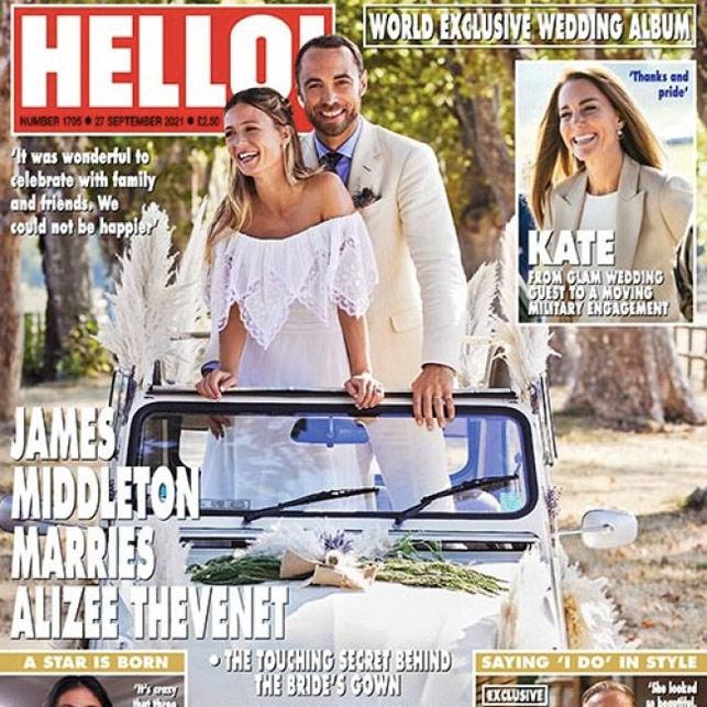 Kate Middleton gelosa, i dettagli dell'abito da sposa di sua cognata