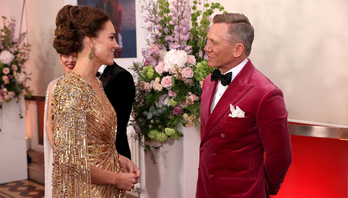 Kate Middleton Daniel Craig No Time to Die