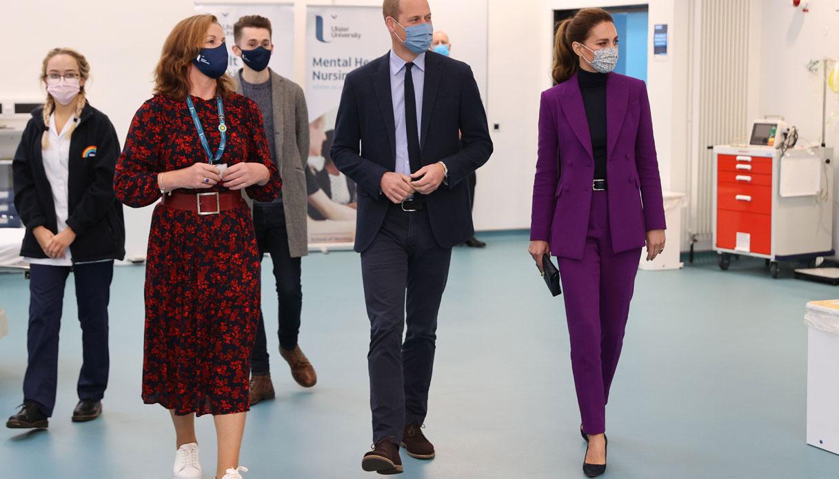 William Kate Middleton tailleur