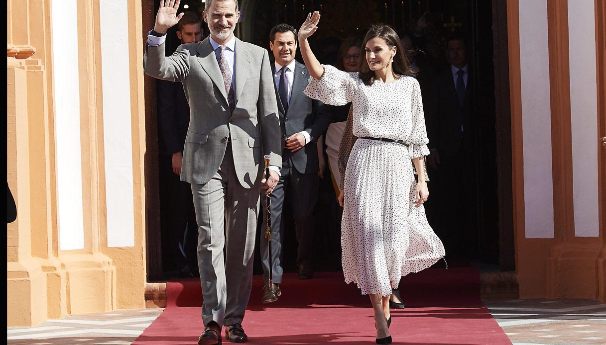 Felipe di Spagna Letizia di Spagna 2020