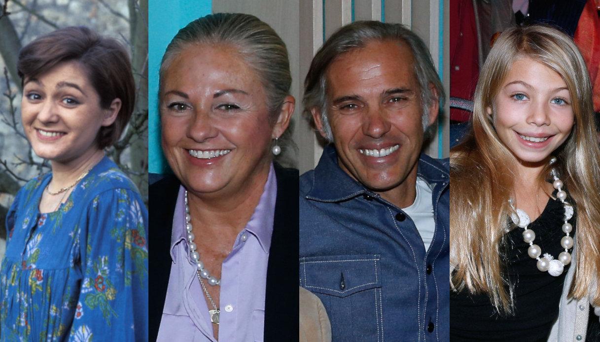 Patricia, Florence, Paul e Stella Belmondo