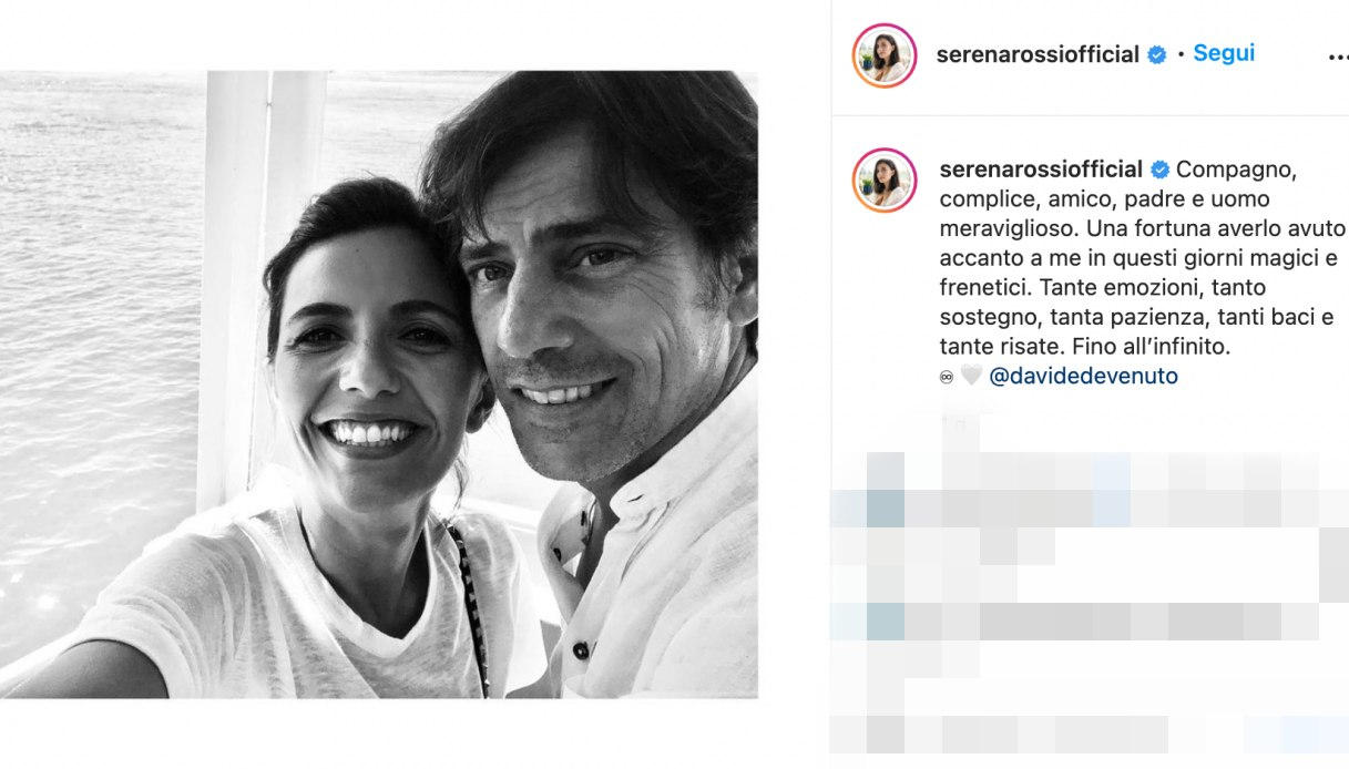 Serena Rossi post