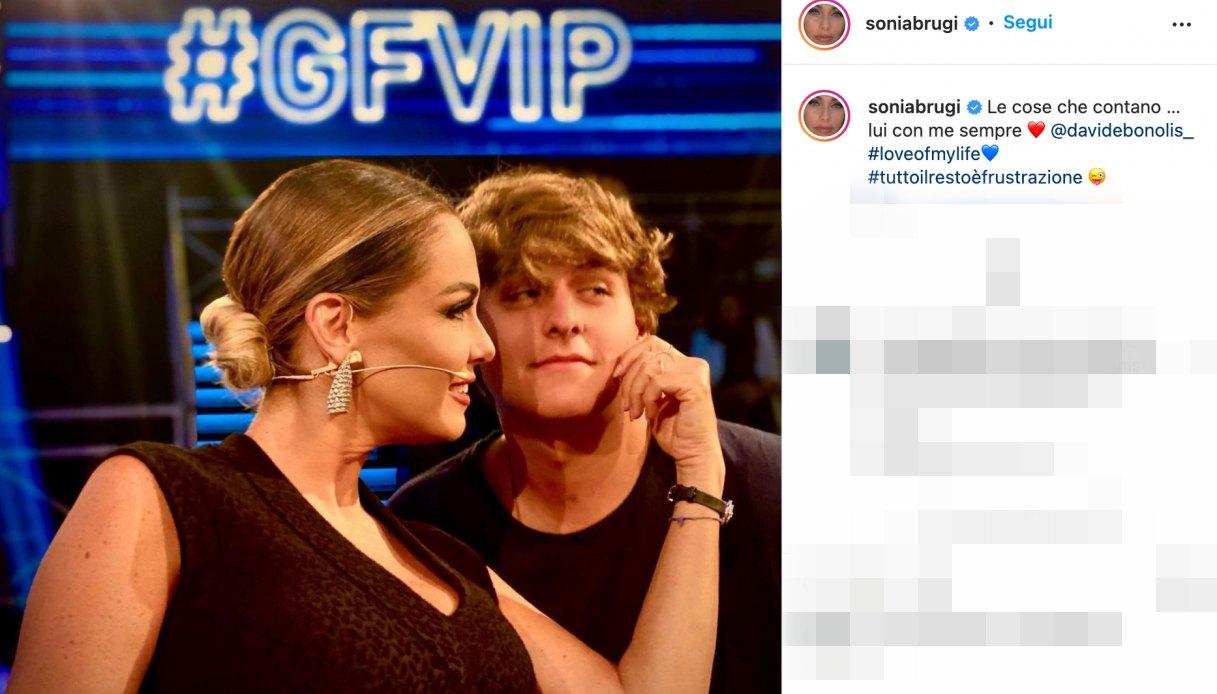 Sonia Bruganelli post Instagram