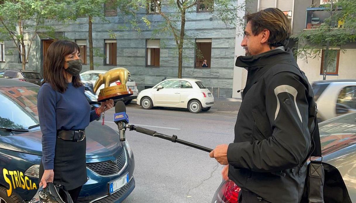Ambra Angiolini Valerio Staffelli Tapiro d'oro