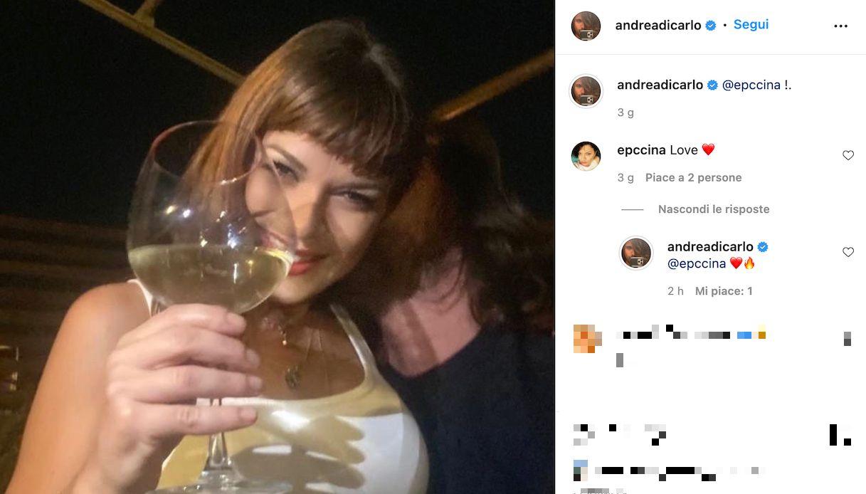 Arisa, l'ex Andrea Di Carlo ha una nuova fidanzata