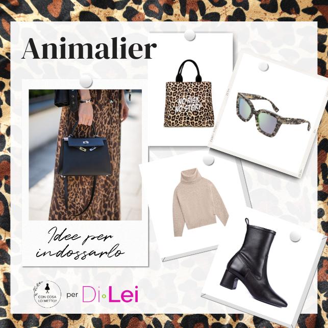 Stampa maculate, più o meno colorate, zebrate o a macchie: ecco qualche idea su come indossare l'animalier