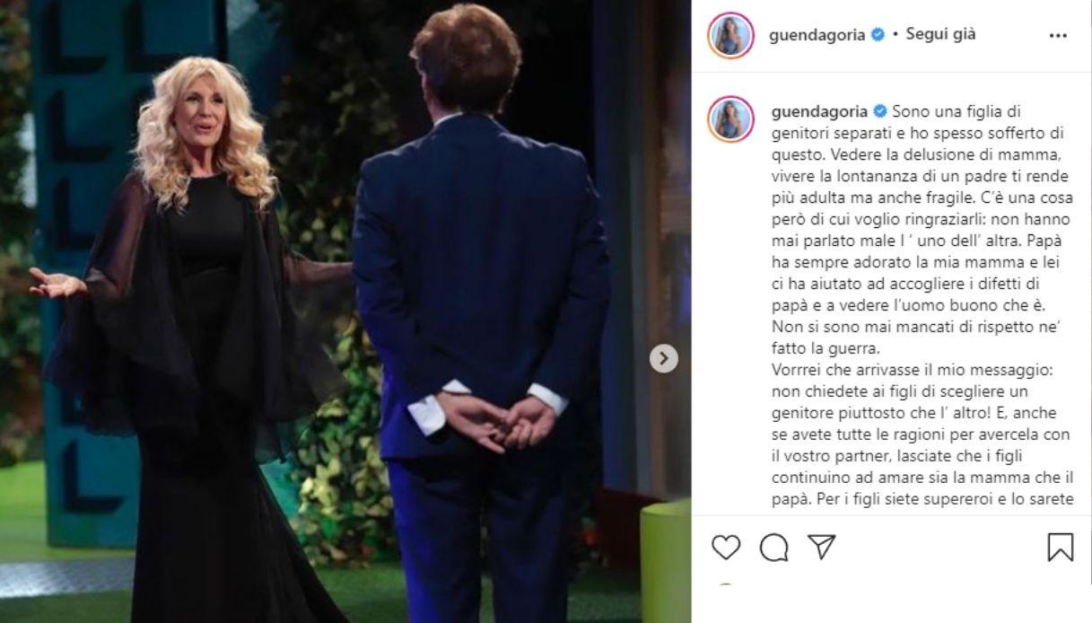 Guenda Goria, lo scambio con Maria Teresa Ruta