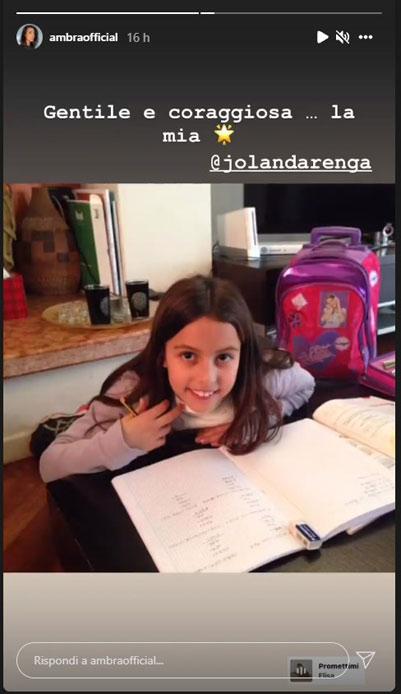 Ambra Angiolini Jolanda Instagram