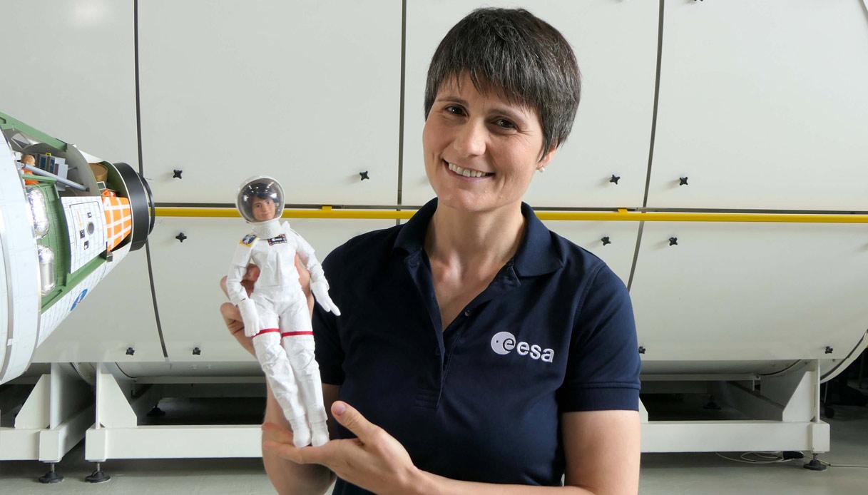 Samantha Cristoforetti Barbie astronauta