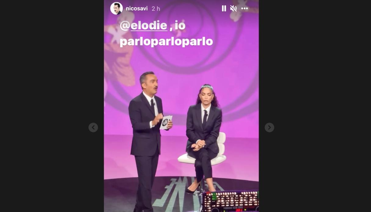 Nicola Savino ed Elodie a Le Iene